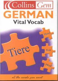 German Vital Vocab