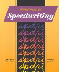 Principles of Speedwriting