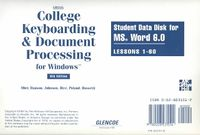 Gregg College Keyboarding & Document Processing for Windows