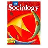 Sociology, Grades 9-12 the Study of Human Relationships