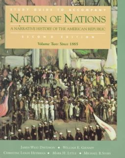 Study Guide to Accompany Nation of Nations