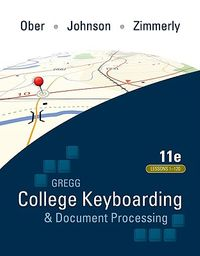 Gregg College Keyboarding & Document Processing / Microsoft Office World 2007 Manual