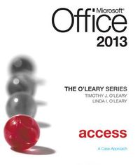 Microsoft Office Access 2013