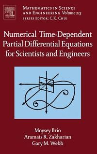 Numerical Time-Dependent Partial Differential Equations for Scientists and Engineers