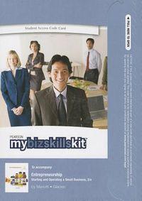 Entrepreneurship Mybizskillskit Access Code