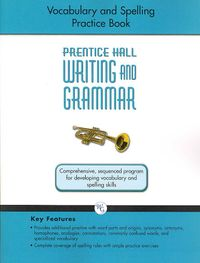 Vocabulary and Spelling Practice Book