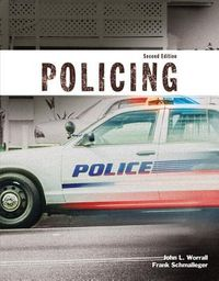 Policing + Mycjlab With Pearson Etext