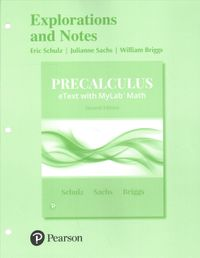 Precalculus Explorations and Notes