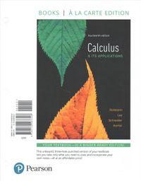 Calculus & Its Applications