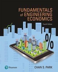 Fundamentals of Engineering Economics