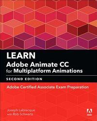 Learn Adobe Animate CC for Multiplatform Animations 2018