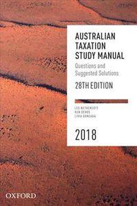Australian Taxation Study Manual, 2018