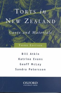 Torts in New Zealand