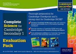 Complete Science for Cambridge Secondary 1 Evaluation Pack