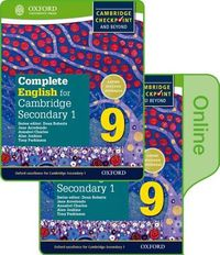 Complete English for Cambridge Lower Secondary + Online Student Book