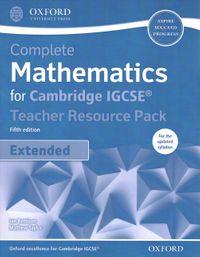 Complete Mathematics for Cambridge IGCSE Teacher Resource Pack