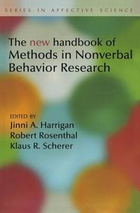 New Handbook of Methods in Nonverbal Behavior Research