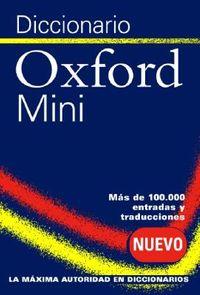 Diccionario Oxford Mini/ Oxford Spanish Minidictionary