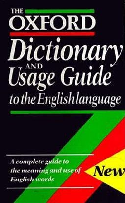 The Oxford Dictionary and Usage Guide to the English Language