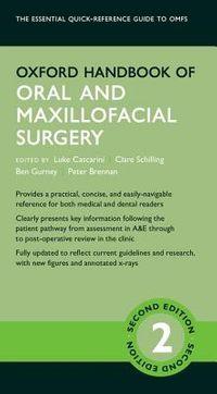 Oxford Handbook of Oral and Maxillofacial Surgery