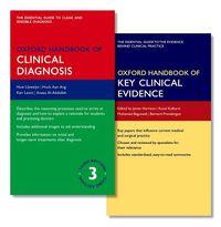 Oxford Handbook of Clinical Diagnosis + Oxford Handbook of Key Clinical Evidence