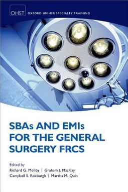 SBAs and EMIs for the General Surgery FRCS