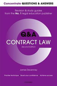 Concentrate Q&A Contract Law