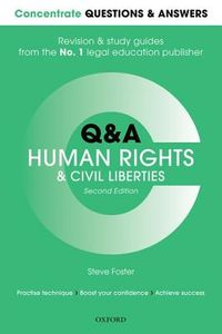 Concentrate Q&AHuman Rights and Civil Liberties