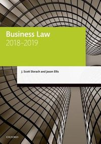 Business Law, 2018-2019