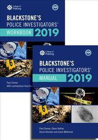Blackstone's Police Investigators' Manual and Workbook 2019