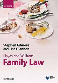 Hayes and Williams' Family Law