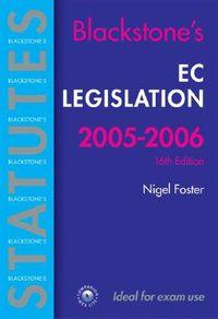 Ec Legislation 2005-2006