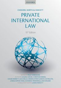 Cheshire, North & Fawcett Private International Law