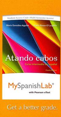 Atando cabos MySpanishLab Access Code