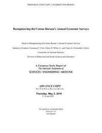 Reengineering the Census Bureau's Annual Economic Surveys