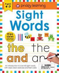 Wipe Clean Workbook Sight Words
