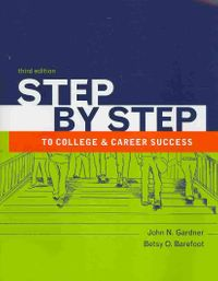 Step by Step to College and Career Success + the Bedford/St. Martin's Planner