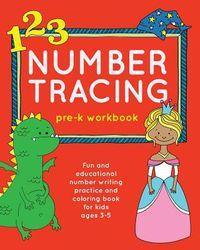 Number Tracing Pre-k Workbook