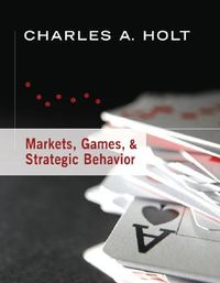 Markets, Games, & Strategic Behavior