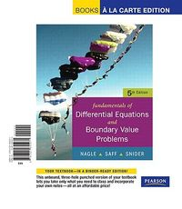 Fundamentals of Differential Equations With Boundary Value Problems + Interactive Differential Equations Cd