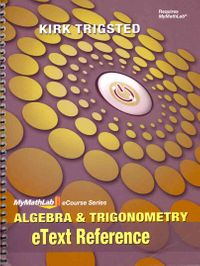 Algebra and Trigonometry eText Reference