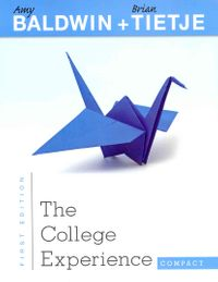The College Experience Compact + MyStudentSuccessLab Access Code