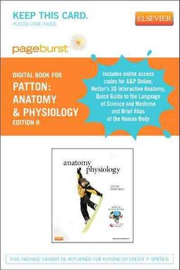 Anatomy & Physiology and Brief Atlas of the Human Body & Quick Guide to the Language of Science - Pageburst E-Book on VST (Retail Access Card), Anatomy and Physiology Online (User Guide and Access Code), and Netter's Interactive Atlas (Access Code)