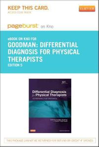 Differential Diagnosis for Physical Therapists - Pageburst E-book on Kno Retail Access Card