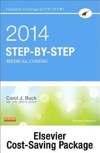 Step-by-Step Medical Coding 2014 Edition + ICD-9-CM 2014 for Hospitals, Volumes 1, 2 & 3 Standard Edition + HCPCS 2014 Level II Standard Edition + CPT 2014 Standard Edition
