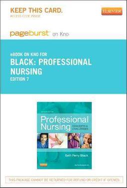 Professional Nursing Pageburst on KNO Access Code