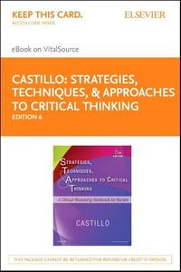 Strategies, Techniques, & Approaches to Critical Thinking eBook on Vitalsource Access Card