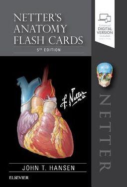 Netter's Anatomy Flash Cards
