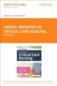 Priorities in Critical Care Nursing - Elsevier Ebook on Vitalsource Retail Access Card