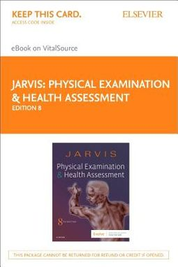 Physical Examination and Health Assessment - Elsevier Ebook on Vitalsource Retail Access Card